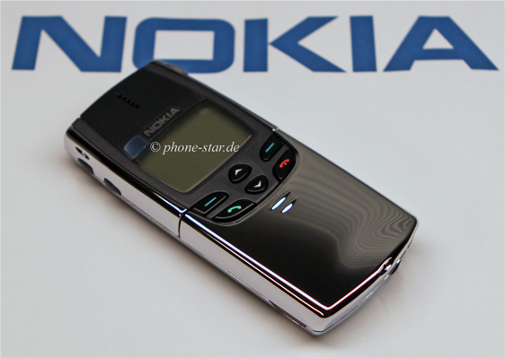 nokia 8810 nse 6nx slider handy mobile phone chrome made. Black Bedroom Furniture Sets. Home Design Ideas