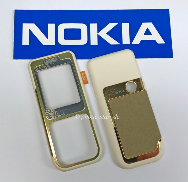 ORIGINAL NOKIA 7360 A+C COVER OBERSCHALE FRONT BACK HOUSING FASCIA NEU NEW