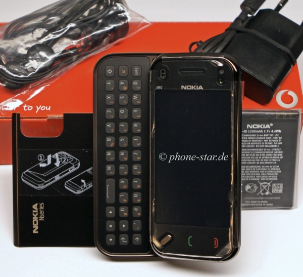 NOKIA N97-4 MINI 8GB RM-555 HANDY SMARTPHONE KAMERA MP3 WLAN UMTS TOUCH WIE NEU