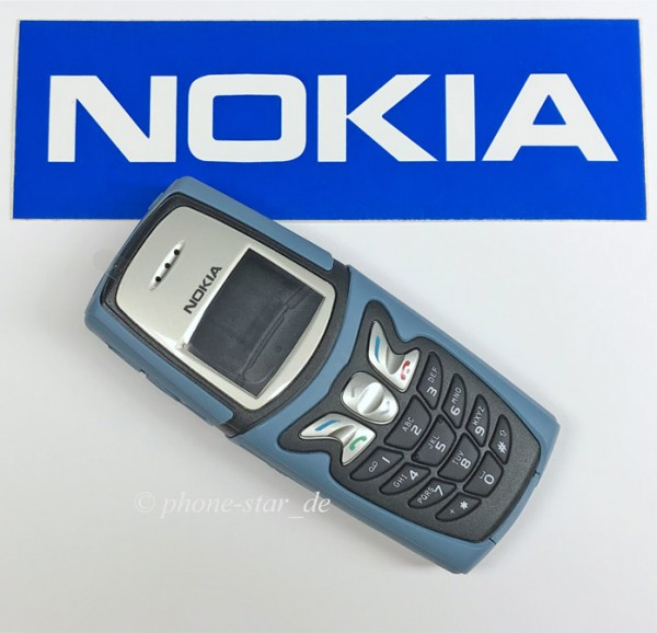 ORIGINAL NOKIA 5210 OUTDOOR A/B-SHELL OBERSCHALE KEYPAD COVER HOUSING FASCIA NEU