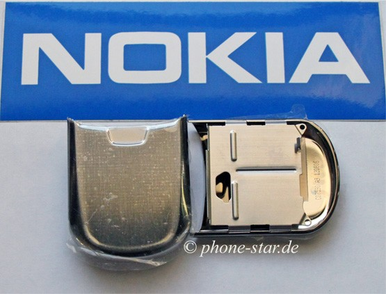 ORIGINAL NOKIA 8800 FRONTCOVER A-COVER ASSEMBLY GRAY SLIDE FLAP GRAU NEU 0256167