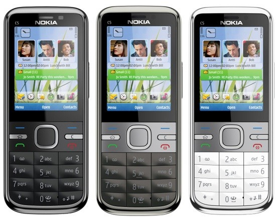 NOKIA C5-00 HANDY MOBILE PHONE QUAD-BAND UMTS GPRS BLUETOOTH KAMERA MP3 WIE NEU