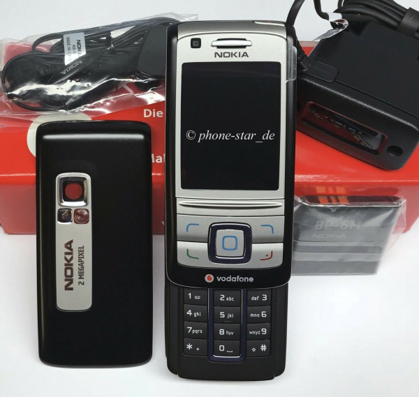 Nokia 6280 RM-78 Business Slide-Handy Tasten Kamera Mobile Phone Neu New Box