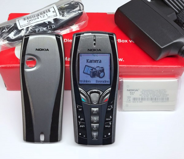 ORIGINAL NOKIA 7250i HANDY MOBILE PHONE NHL-4JX TRI-BAND GPRS KAMERA NEU NEW BOX